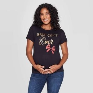Best Gift Ever Maternity Tee Size Small